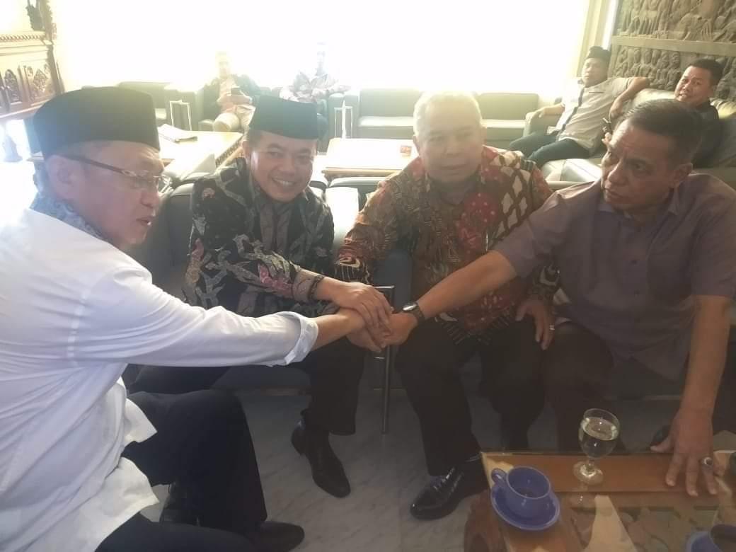 Para Bakal Calon Gubernur Jambi yang mengikuti Uji kelayakan di DPP PKB